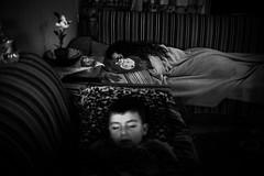 Home 2 (Vasilikos Lukas) Tags: family blackandwhite blancoynegro night canon blackwhite kid greece uncanny heraclion vasilikos 5dmkii lukasvasilikos