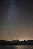 """Andromeda above the Gran Paradiso"" by a galaxy far, far away..."