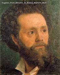 Eugenio Prati Ritratto di Andrea Malfatti Mart