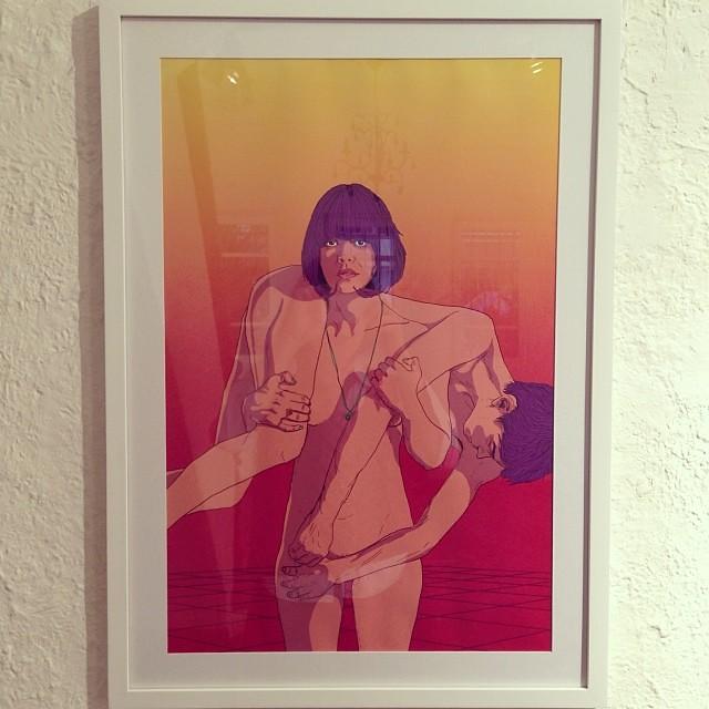 "Elián Tuya • ""Colectiva de Fin de Año"" #art #arte #artinlima #arteenlima #gallery #galeria #brunogallery #muestra #artist #artista #pintura #painting"