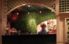 Guy at the bar (Andrs Rueda) Tags: light boy man cute guy face night young retro 80s