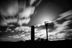 Naze Tower (Future-Echoes) Tags: longexposure blackandwhite bw cloud silhouette coast movement beacon essex waltononthenaze