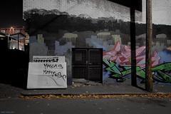 Macca's Left (Ranga 1) Tags: longexposure nightphotography urban night canon graffiti lowlight streetlight nocturnal fitzroy australian australia melbourne victoria suburbs mattress urbanlandscape nightexposure springstreet davidyoung lowlightphotography ef1740mmf4lusm innersuburbs innermelbourne canoneos5dmarkii