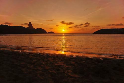 Sunset - Porto de Sto. Antonio - Fernando de Noronha/PE