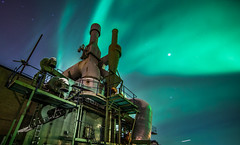 Meanwhile on the other side...   (Aurora Borealis) (Explored at no 2.) (Bhalalhaika) Tags: longexposure norway stars nuclear le meltdown reactor northernlights auroraborealis srreisa northernlight top20aurora canonef14mmf28liiusm canon5dmarkii reallyrightstufftripod matsanda bhalalhaika
