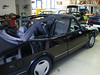 Saab 900 I Akustik-Luxus line Verdeck Montage