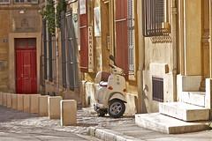 Aix en Provence (Alpha Lima X-ray) Tags: france scooter aixenprovence provence aix sud librairie jrmealexandre