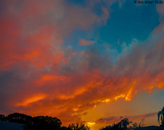 Painted Sky Panorama (DonMiller_ToGo) Tags: sky panorama orange nature clouds catchycolors cloudy sunsets 100v10f fav20 panoramic skyscapes fav30 fav15 goldenhour skycandy gf1 fav10 fav25 views500 views200 views400 views300 cloudsstormssunsetssunrises sunsetmadness sunsetsniper panoimages6