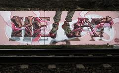 Trackside levitation (Fat Heat .hu) Tags: graffiti fatheat