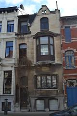 Architectenwoning Albert Gondrexon, Antwerpen (Erf-goed.be) Tags: geotagged antwerpen burgerhuis paleisstraat archeonet architectenwoning geo:lat=512066 albertgondrexon geo:lon=43998