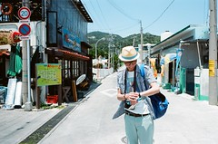 On the road (我的小風景) Tags: leica summer fujifilm okinawa m3 sho 渡嘉敷 rdp100