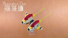 Thunder cat FTW! (JPascal) Tags: lego space micro racer garc