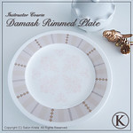 "Damask Plate <a style=""margin-left:10px; font-size:0.8em;"" href=""http://www.flickr.com/photos/94066595@N05/13690448735/"" target=""_blank"">@flickr</a>"
