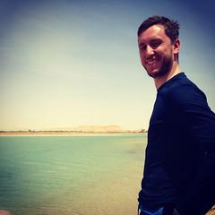 (odil2000) Tags: lake man sahara heaven desert egypt safari oasis russian paradis egypte siwa salted
