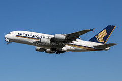 Singapore Airlines Airbus A380 9V-SKF (LHRlocal) Tags: london plane airplane