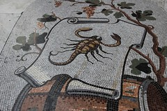 Scorpions do it best (Andrew 62) Tags: italy campania floor mosaic scorpion napoli galleriaumberto