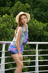 DSC04204 (rickytanghkg) Tags: portrait cute sexy girl lady female asian model pretty outdoor chinese young belle