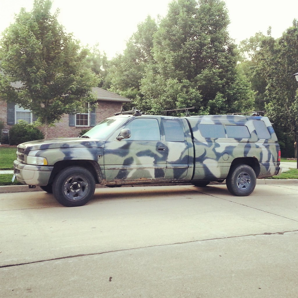 The World S Best Photos Of Camo And Dodge Flickr Hive Mind