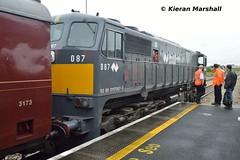 087 at Claremorris, 18/7/15 (hurricanemk1c) Tags: irish train gm rail railway trains railways irishrail generalmotors 2015 emd 087 071 claremorris iarnród éireann rpsi irrs iarnródéireann railwaypreservationsocietyofireland irishrailwayrecordsociety 0805connollyballina