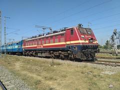 BRC WAP4 22236 with Avantika Express at Indore