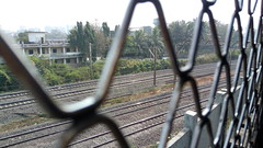 RAILWAY LINE ABOVE RAILWAY LINE / BELOW - CCG-VIRAR MAIN LINE / ABOVE ANDHERI - PNVL LINE