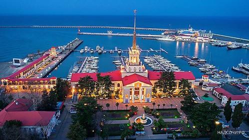Сочинский морской порт.