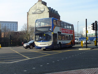 Stagecoach bus .