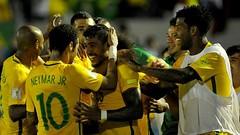 ไฮไลท์ฟุตบอล ฟุตบอลโลกรอบคัดเลือก โซนอเมริกาใต้ อุรุกวัย 1-4 บราซิล