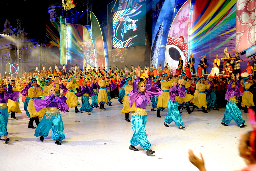 Colours of Malaysia is one of the countries major annual festivals