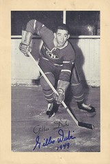 1944-63 Beehive Hockey Photo / Group II - GILLES DUBE (Left Wing) (b. 2 Jun 1927 - d. 29 Sep 2016 at age 89) - Autographed Hockey Card (Montreal Canadiens) (#234 / SP) (Baseball Autographs Football Coins) Tags: hockey beehive 1934 1967 19341967 groupi groupii groupiii woodgrain torontomapleleafs bostonbruins newyorkrangers montrealcanadiens chicagoblackhawks detroitredwings montrealmaroons newyorkamericans card photos hockeycards brooklynamericans gillesdube leftwing shortprint