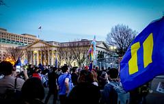 2017.02.22 ProtectTransKids Protest, Washington, DC USA 01077