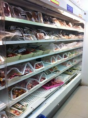 Meat & fish shelves at local supermarket (Ros in wonderland) Tags: food thailand supermarket meat thaifood eatinginthailand uploaded:by=flickrmobile flickriosapp:filter=nofilter foodwhiletravelling