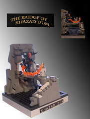 LOTR-Fellowship-Entry (TK-5487) Tags: lego contest lord ring lotr rings micro gandalf fellowship balrog moc