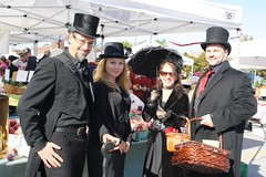 Harvest Noir guests at flashmob