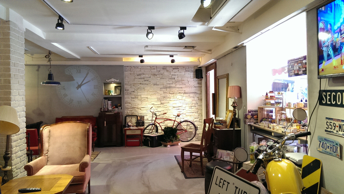 台北東區古董家具咖啡廳Space time cafe (19).jpg