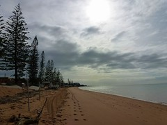 Margate Beach,Queensland,Australia (scinta1) Tags: trees sky beach clouds sand brisbane redcliffe 2013