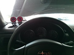 2013-06-16-16-43-07-110 (snackerz) Tags: xt subaru oil pressure install gauge forester boost maddad
