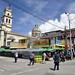 Vie di mercato di Guatemala