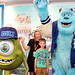 Nicola Kettlewood and her son at the Monsters University photocall at the Festival Theatre
