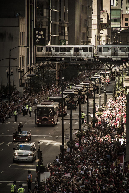 Blackhawks Parade 2013
