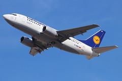 Lufthansa - Boeing 737-530 - D-ABIA 'Greifswald' (Andy2982) Tags: takingoff lufthansa airliner greifswald londonheathrow londonheathrowairport berlintegel dabia boeing737530 27lrunway cn248151933 lh3399