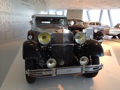 1931 Mercedes 770 W07 (mangopulp2008) Tags: cars 1931 mercedes german mercedesbenz 770 w07 stuttgartgermany mercedesbenzmuseum germancars mercedesw07 uploaded:by=flickrmobile flickriosapp:filter=nofilter 1931mercedes770w07