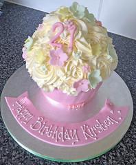 Pastel Giant Cupcake
