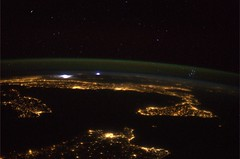 The Mediterranean, the Pleiades and a storm in the distance… (europeanspaceagency) Tags: italy storm stars earth atmosphere iss pleiades internationalspacestation expedition36
