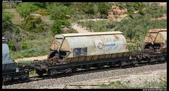 Taoos/PTT de Transfesa (javier-lopez) Tags: train tren trenes railway arena ptt arbo vagn adif ffcc tolva tolvas mercancas taoos bellvei potasa transfesa villafra larbo 26062013