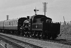78019 Standard Class 2, Great Central Railway, 26th May 2013 (OG47) Tags: film blackwhite steam ilfordhp5 locomotive pentaxmesuper steamengine steamtrain 400asa 260 greatcentralrailway railwayengine uksteam 78019 standardclass2 smcpentaxm80200mmf45