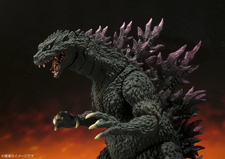 S.H. MonsterArts 哥吉拉 2000版本