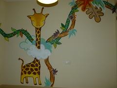 jirafa (julietaXLF) Tags: graffiti mural infantil animales pintura ilustración xlf julietaxlf