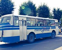 Soviet Bus (StickydateProductions) Tags: bus communism soviet belarus minsk cccp