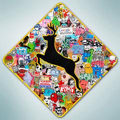 Deer Crossing Combo Slaps by Billi Kid (BilliKid) Tags: streetart graffiti sticker abelincolnjr octobersurprise combo stikman deercrossing catcult billikid mikedie benjaminmiller peruanaanaperu chrisrwk dimadrjuchin jasonmamarella asvp streetgrapes dwkrsna superfuturekid wcbevan laurencebmiller